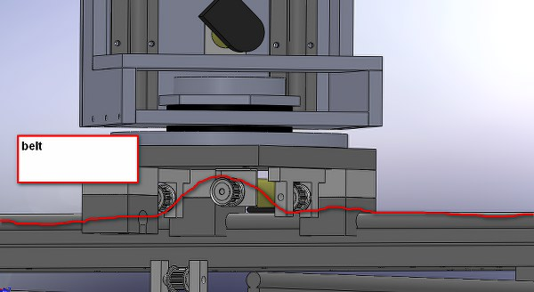 belt solidworks design
